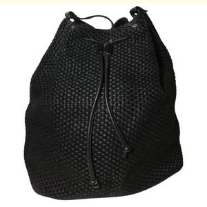 Bottega Veneta woven bucket bag